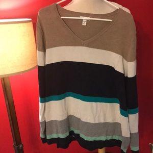 Croft and Barrow Striped sweater